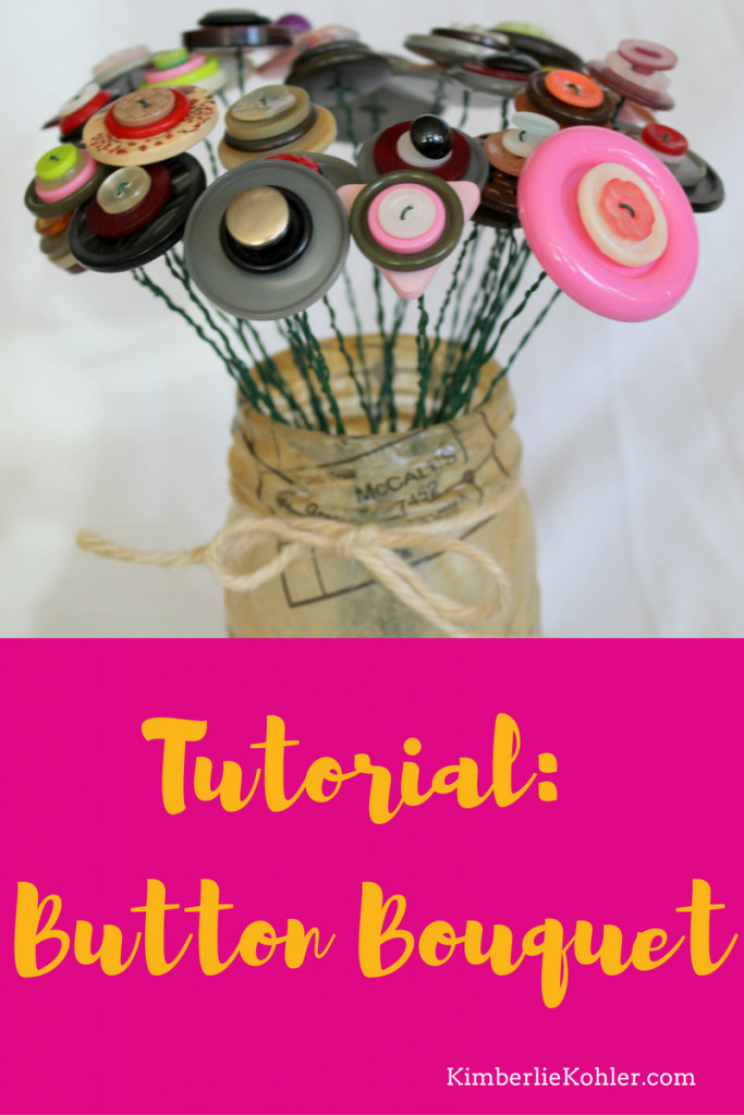Button Bouquet Tutorial