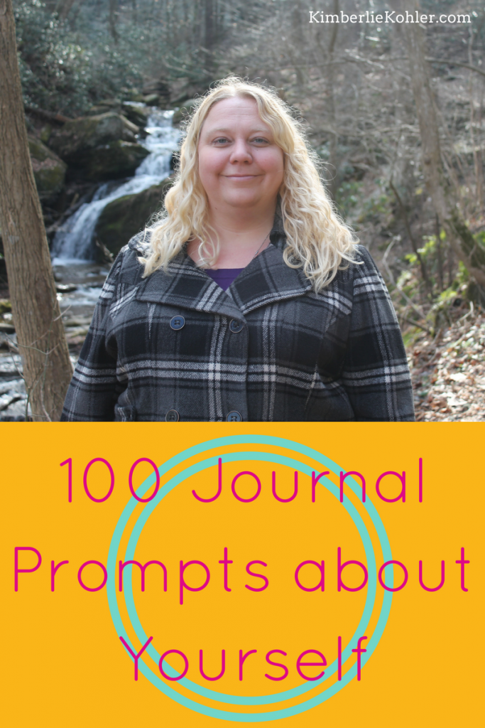 100 Journal Prompts about Yourself