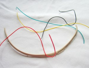 Telephone Wire Tutorial Step #2