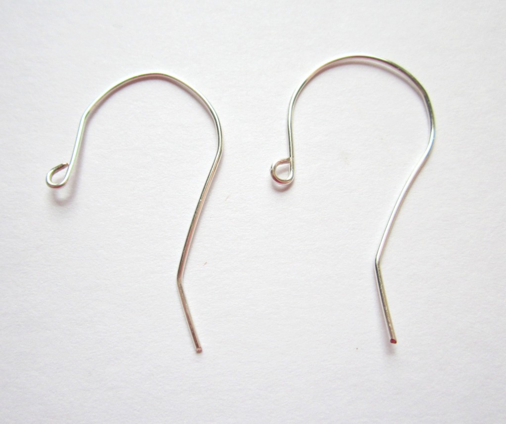 Earring Wire Tutorial Completed