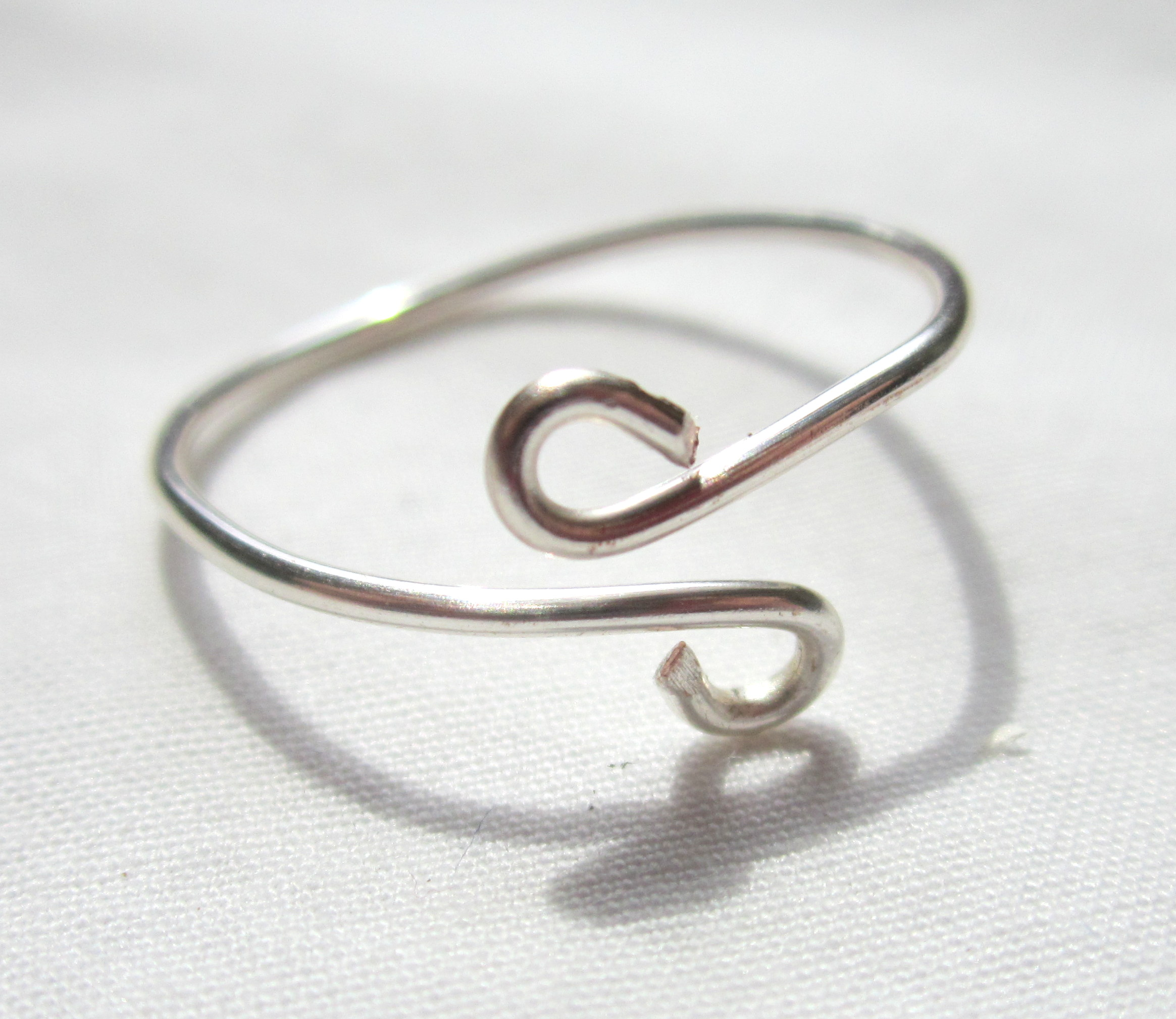 Adjustable Wire Ring Tutorial Completed
