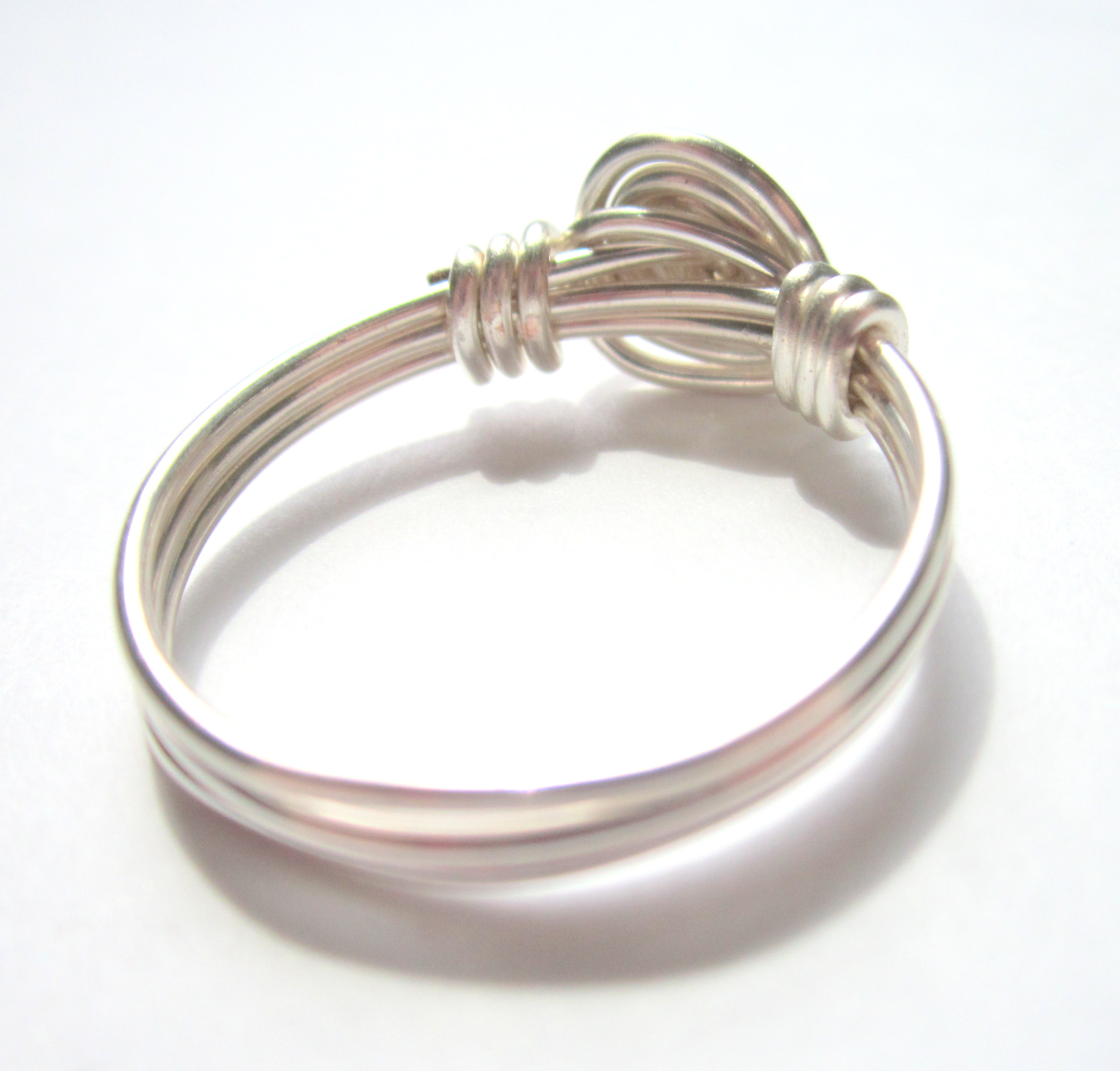 wire wrapped rose ring | Emerging Creatively Jewelry Tutorials