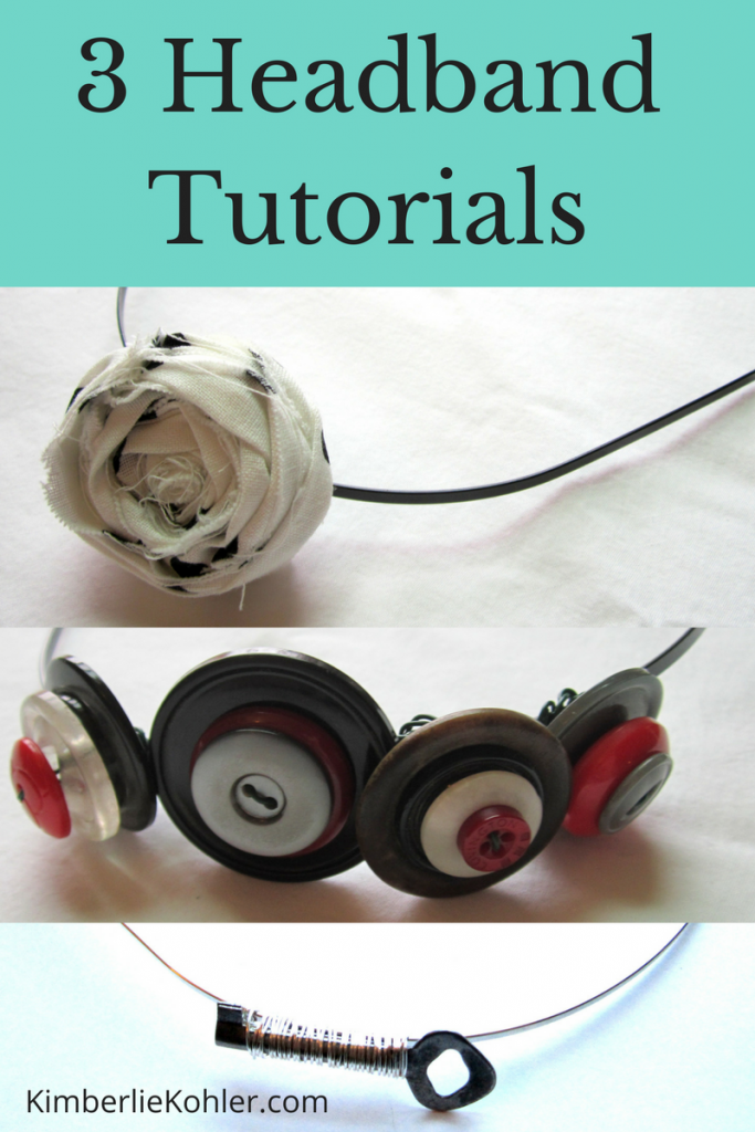 3 Headband Tutorials