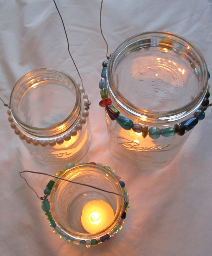 Hanging Jar Lantern Tutorial