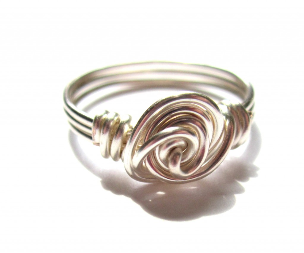 Rose Wire Wrapped Ring Tutorial