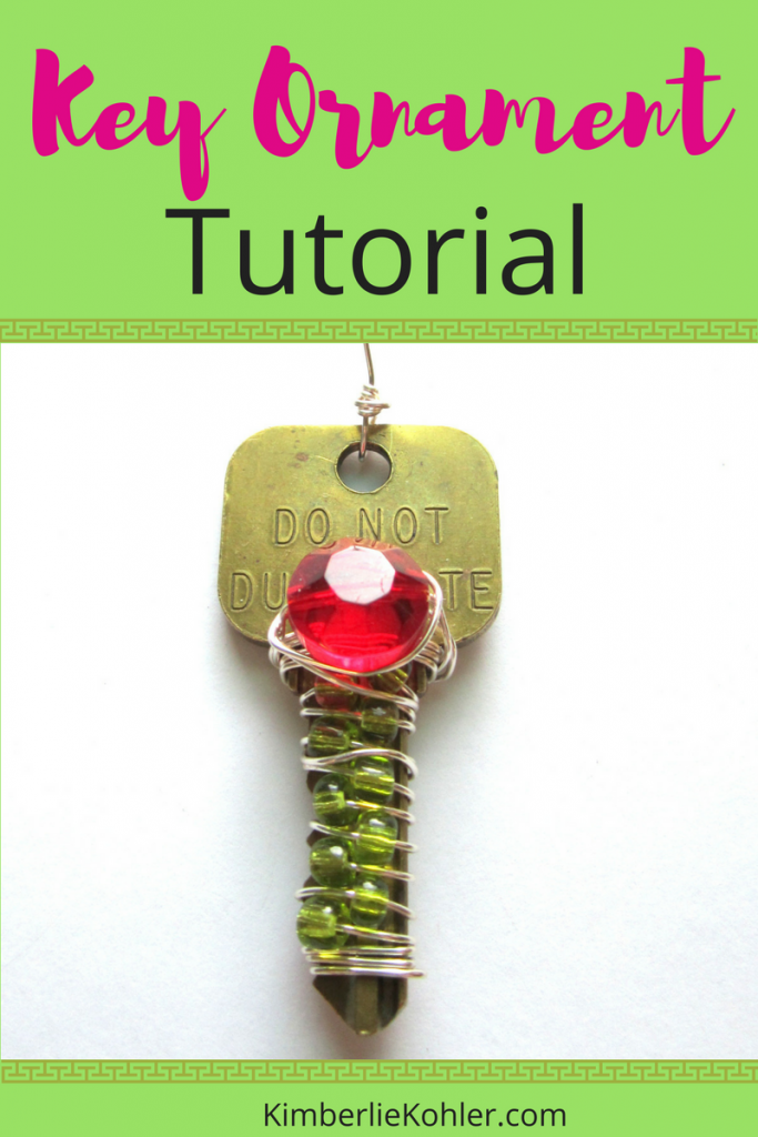 Key Ornament Tutorial