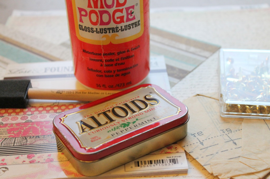 Altoid Tin Tutorial Materials