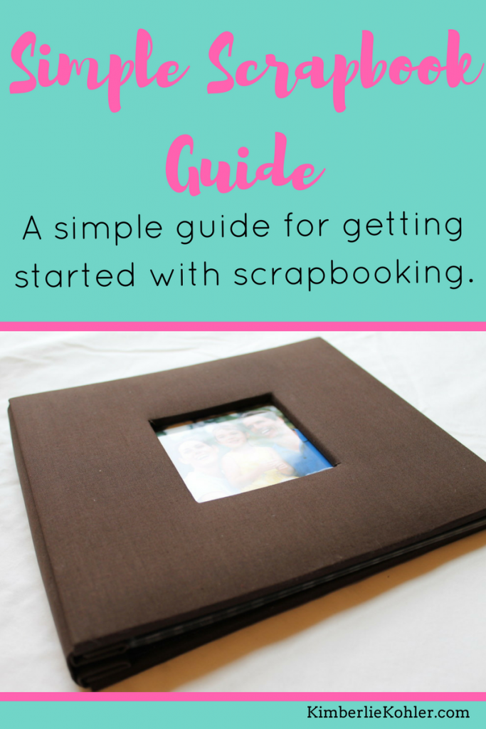 Simple Scrapbook Guide