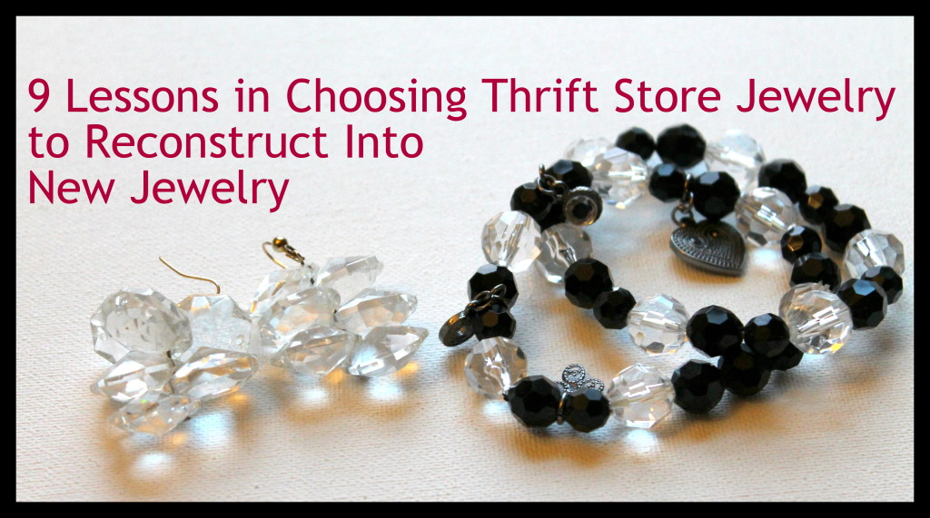 9 Lessons for thrift jewelry
