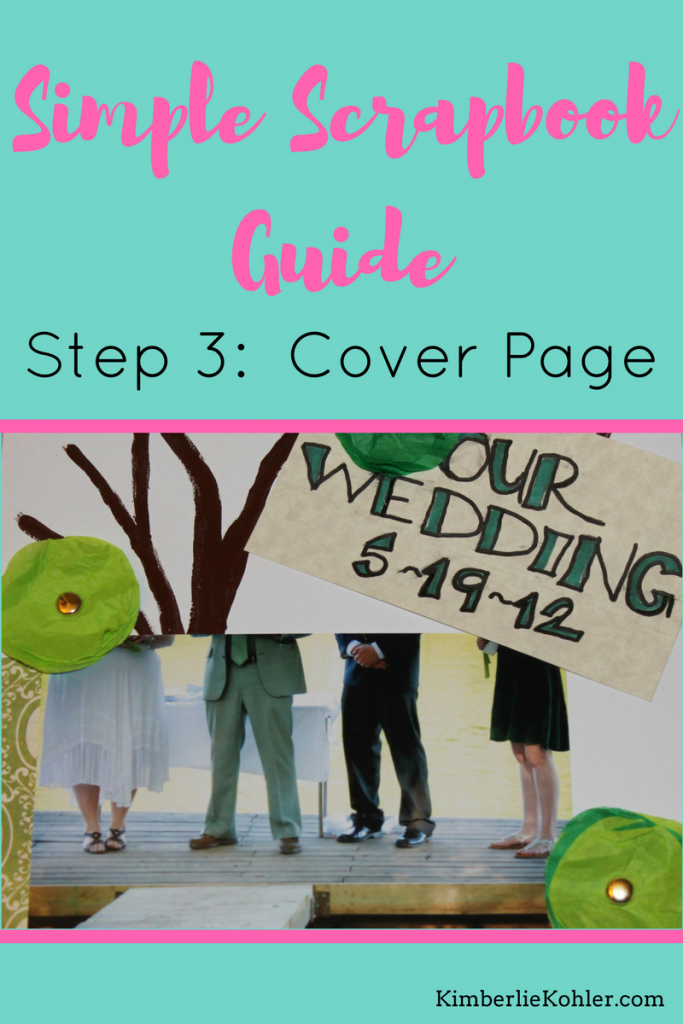 Simple Scrapbook Guide Step 3