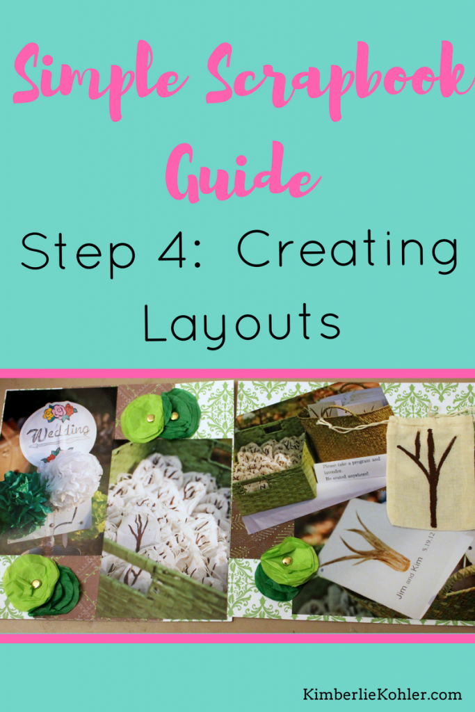 Simple Scrapbook Guide Step 4
