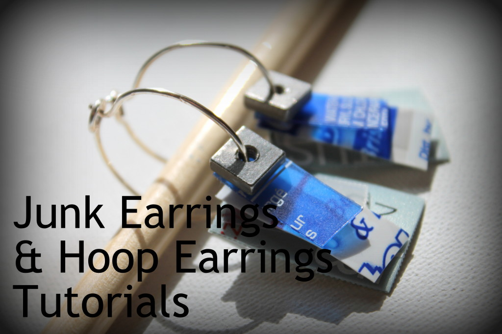 Junk Earrings Tutorial