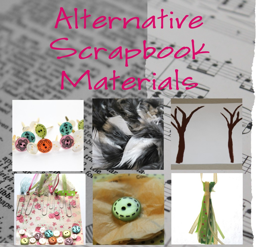 Alternative Scrapbook Materials