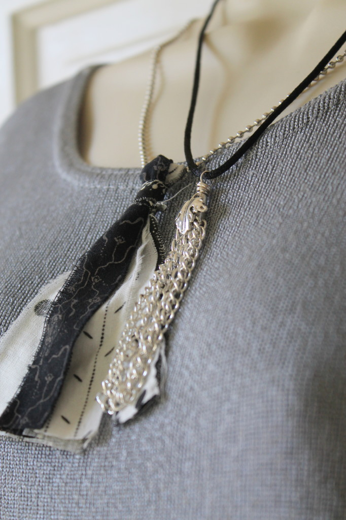 Chain Tassel Necklace Tutorial