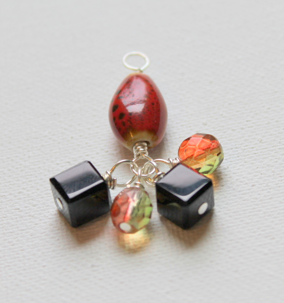 How to Make a Wire Wrapped Pendant with Bead Dangle