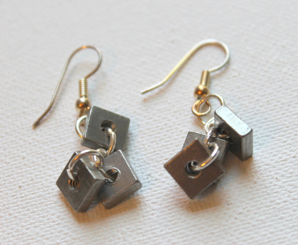 Hardware Bunch Earrings