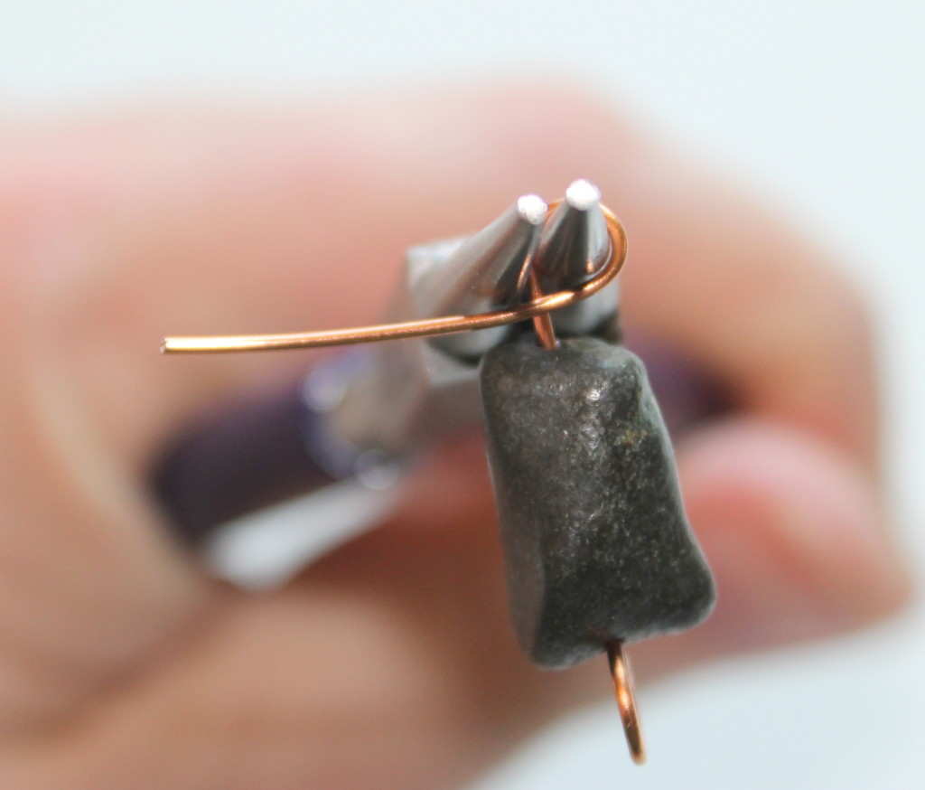 How to Make a Wire Wrapped Charm Pendant