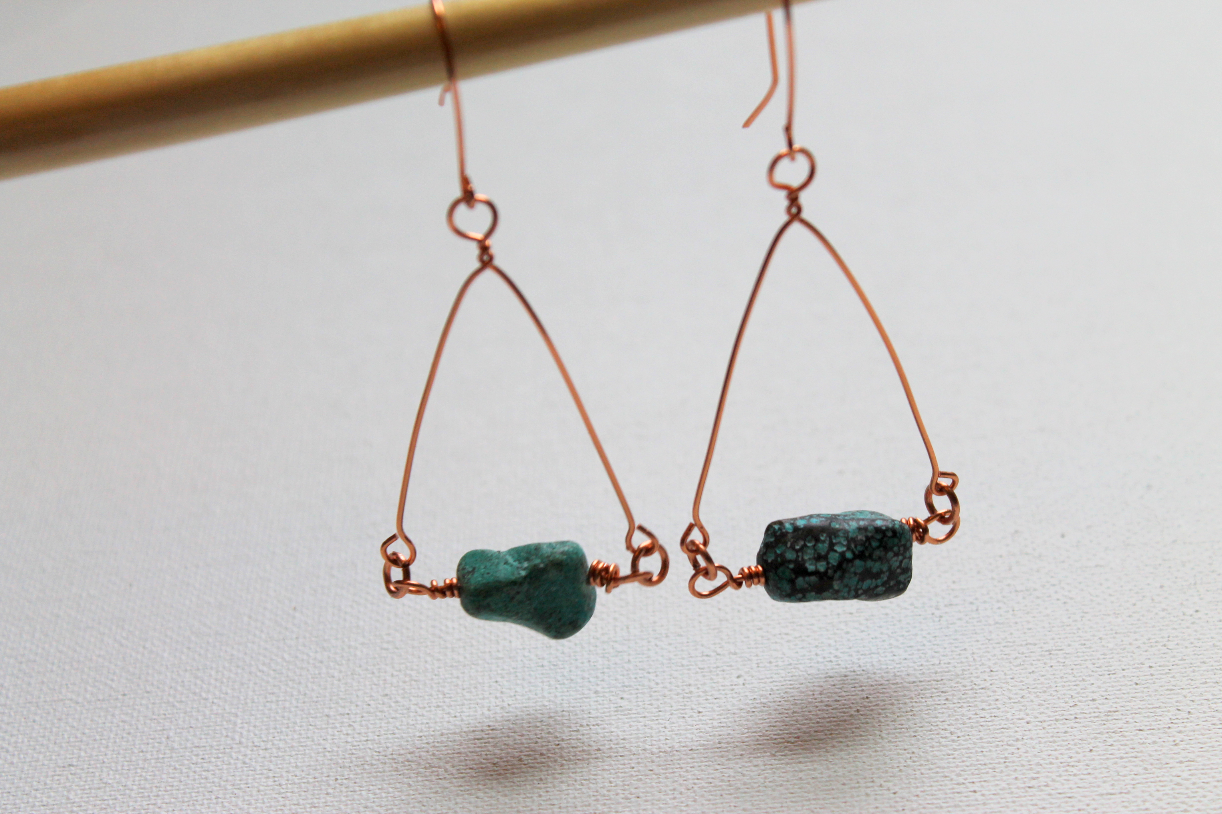 how to make wire wrapped earrings | Emerging Creatively Jewelry ...