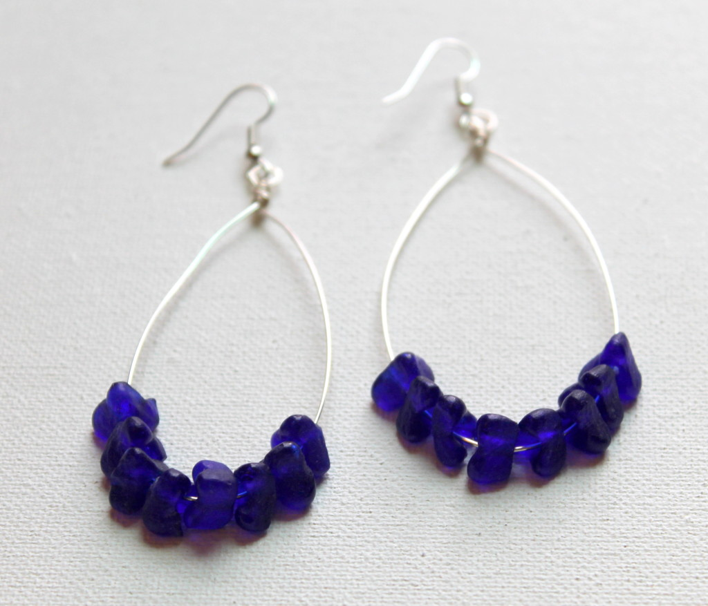 How To Make Beaded Hoop Earrings Emerging Creatively