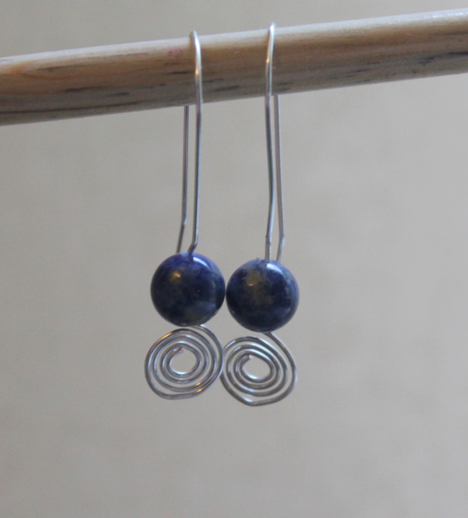 Spiral Earrings Tutorial