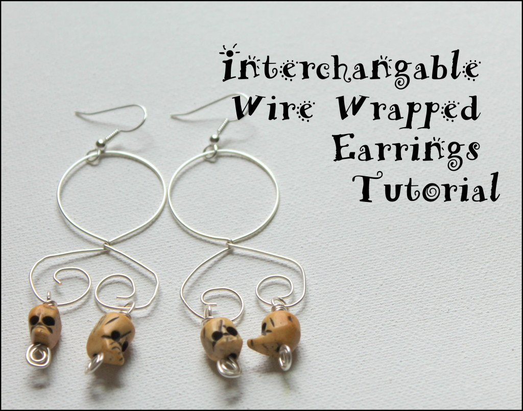 Interchangeable Wire Wrapped Earring Tutorials