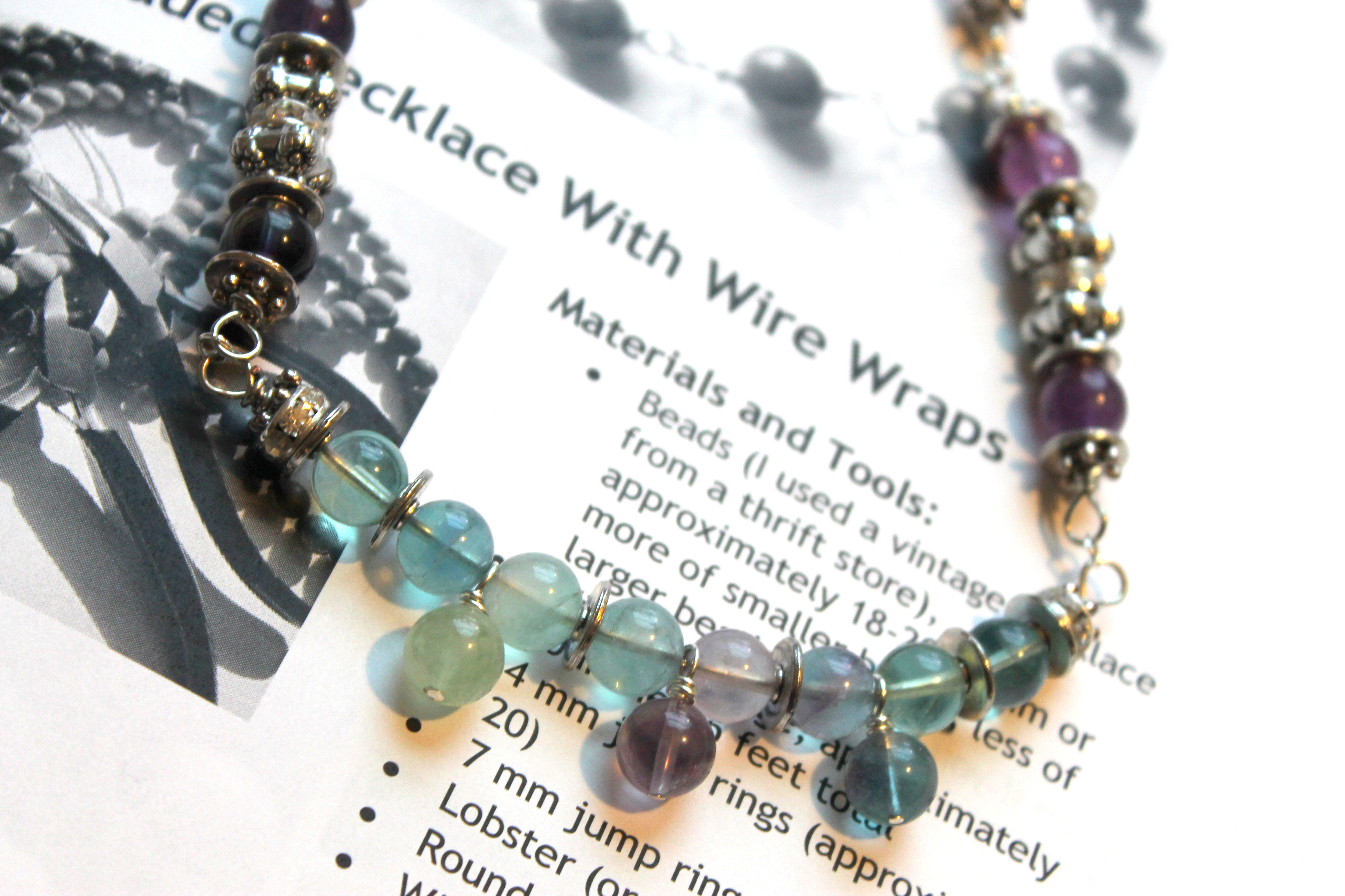with steps to chokers necklace wikihow final wire how make memory bead pictures