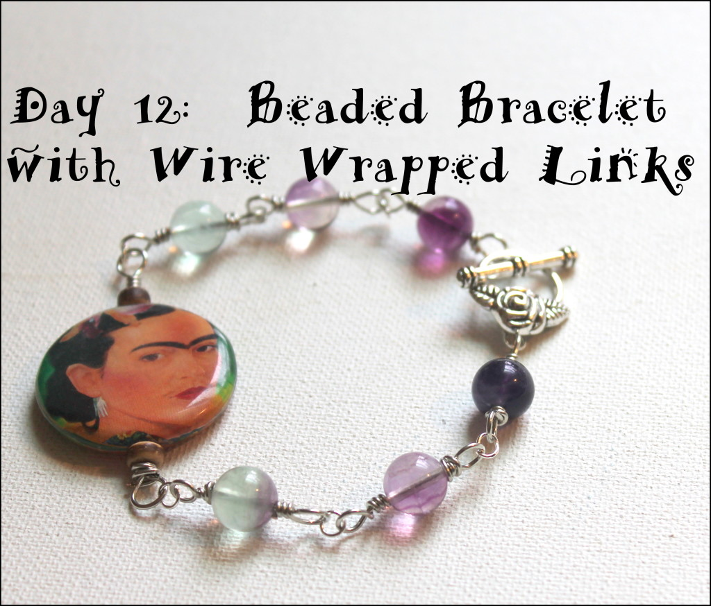 Wire Wrapped Link Bracelet Tutorial