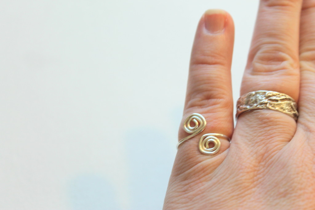 Adjustable Spiral Ring Tutorial