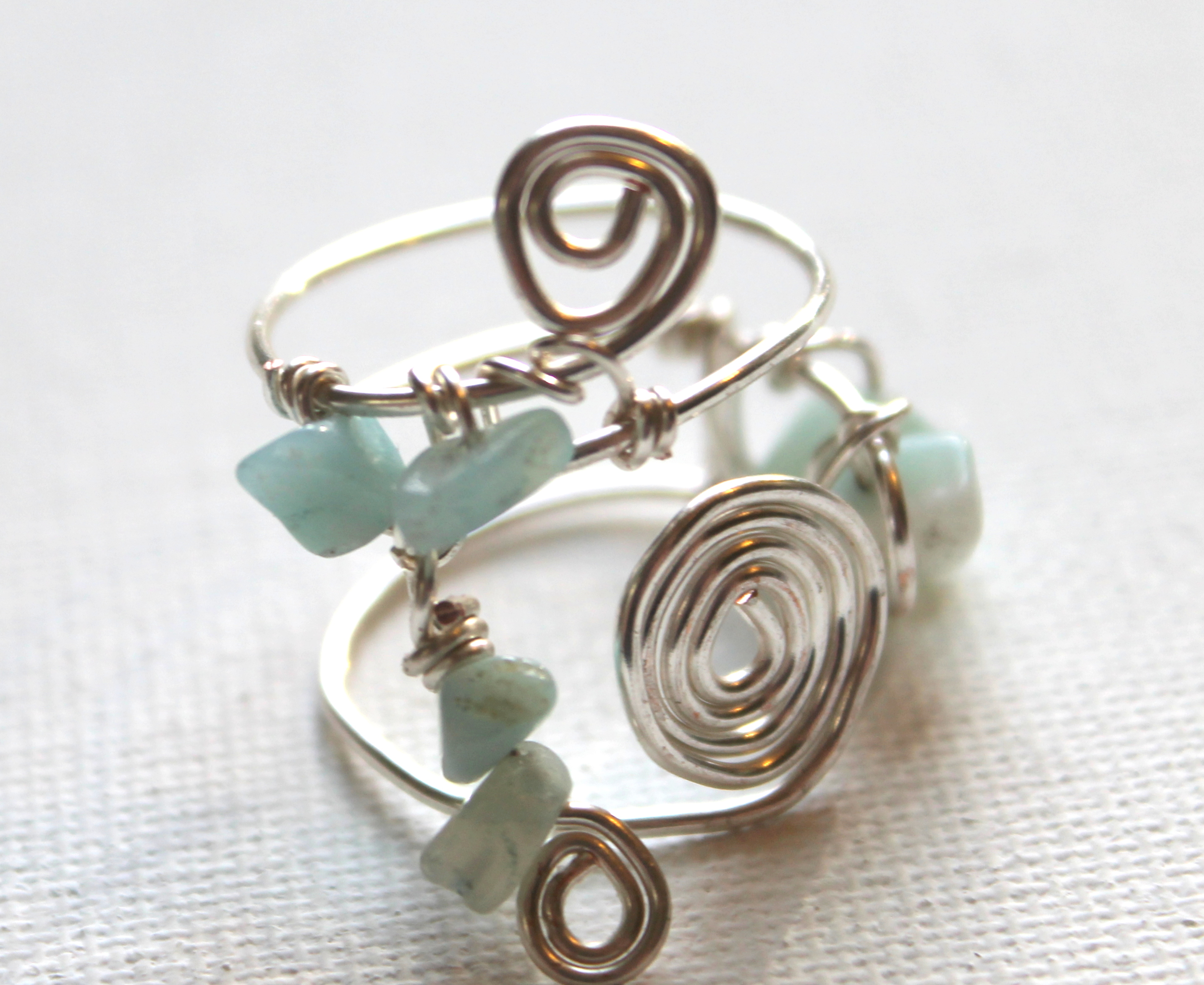ring rings designs on emerald beaded image elizabeth tannis