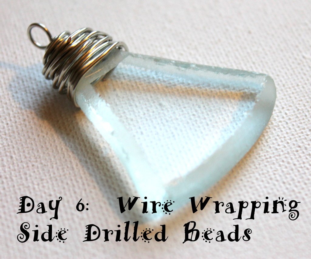 Wire Wrapping Side Drilled Beads