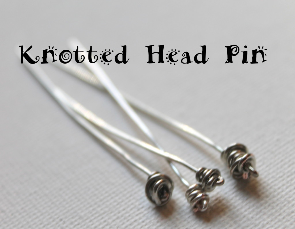 Knotted Head Pin Tutorial