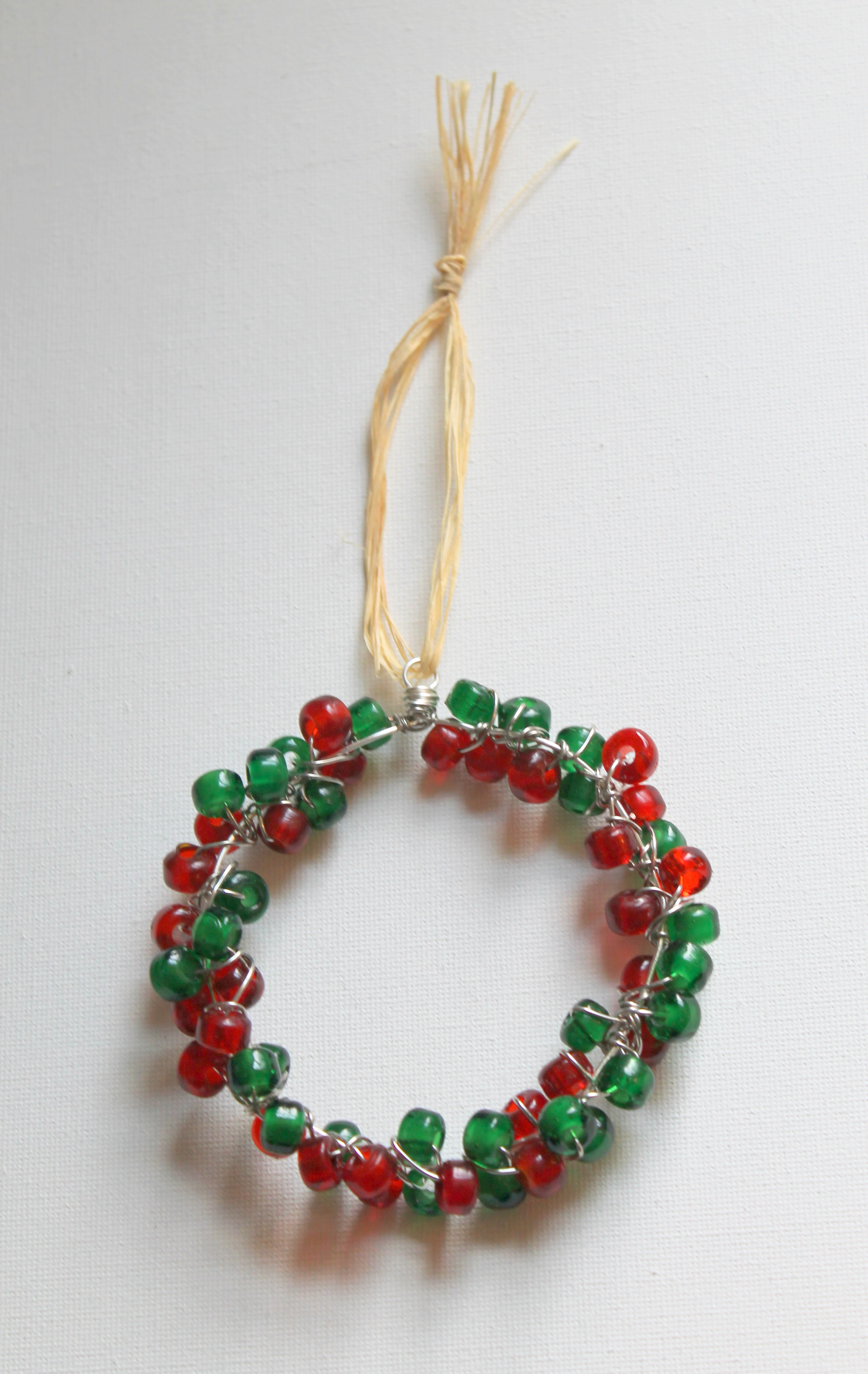 Wire Wrapped Wreath Ornament Tutorial | Emerging Creatively Jewelry ...