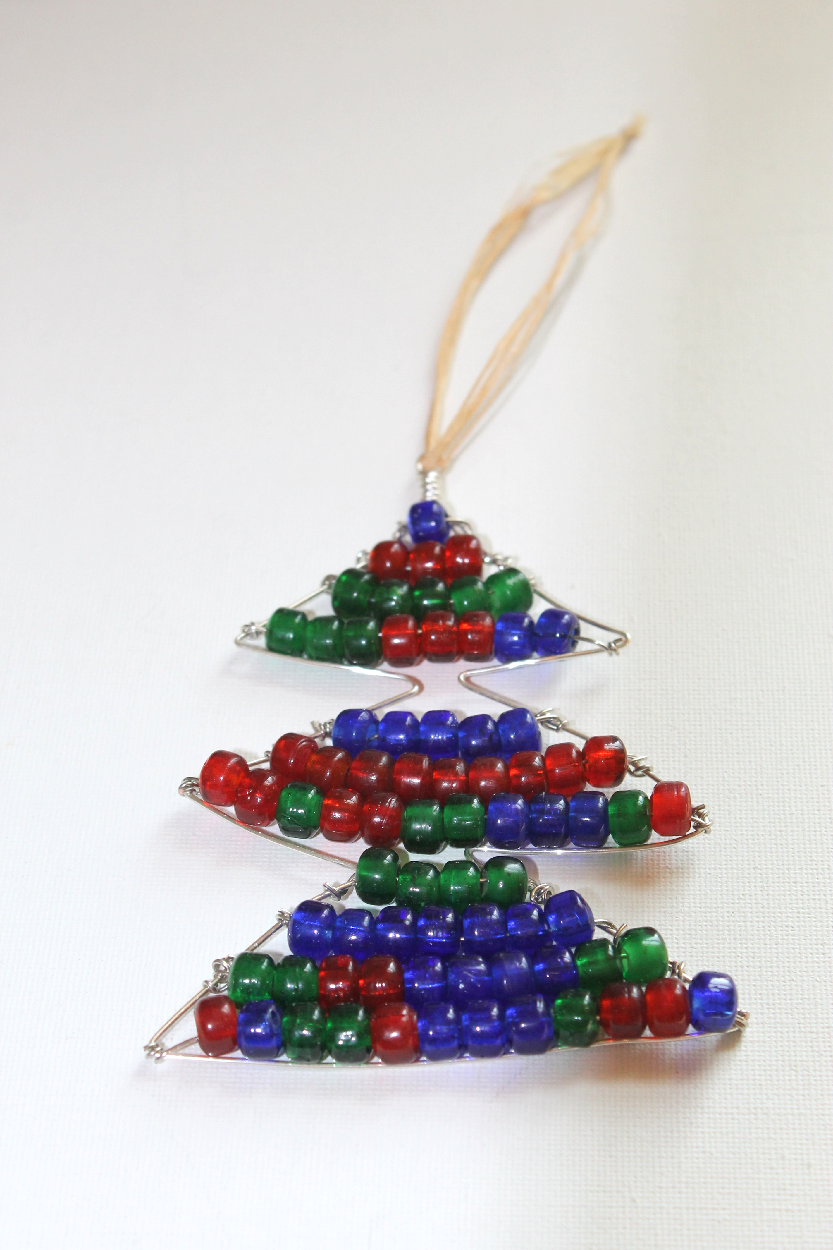 Wire Wrapped Christmas Tree Ornament Tutorial | Emerging Creatively ...