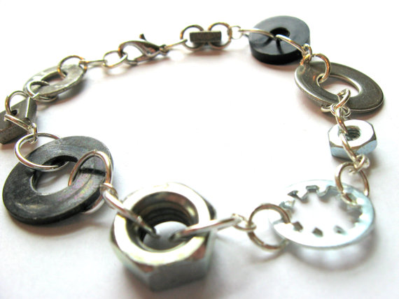Mixed Hardware Bracelet