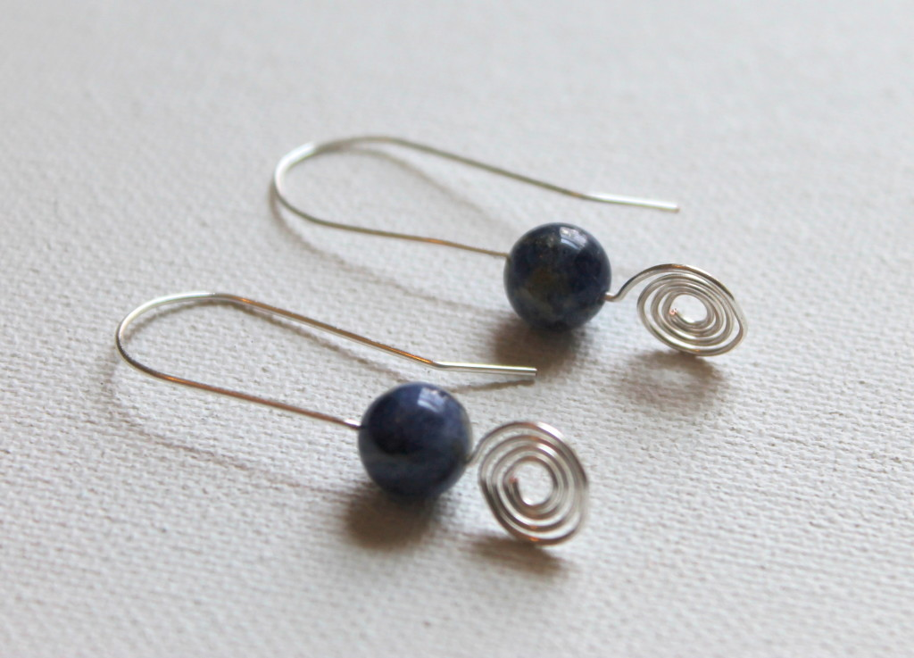 Spiral Wire Earrings