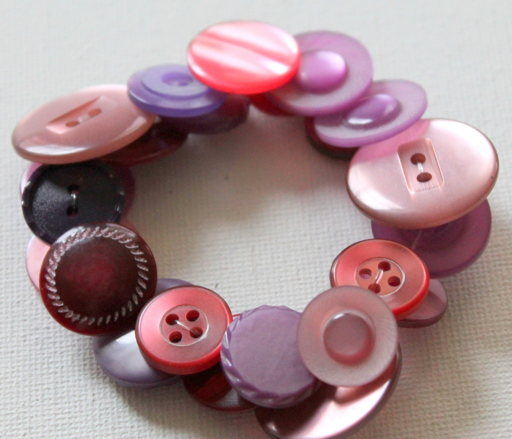 Stretch Button Bracelet