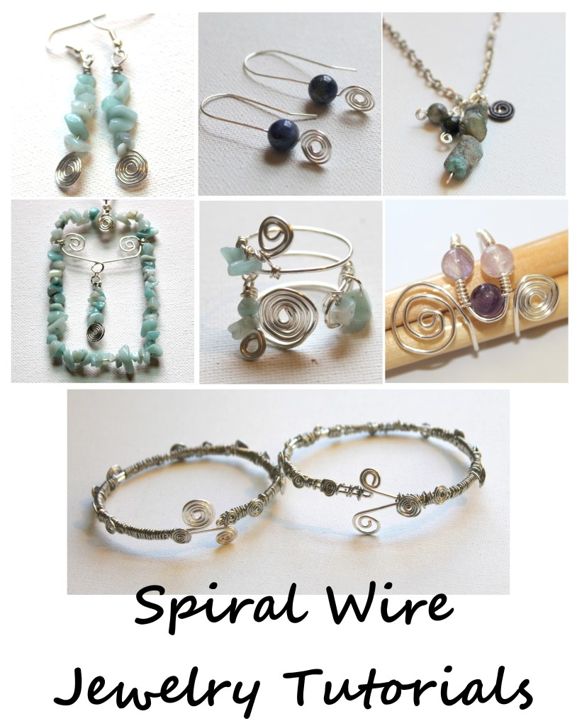 Spiral Wire Jewelry Tutorials