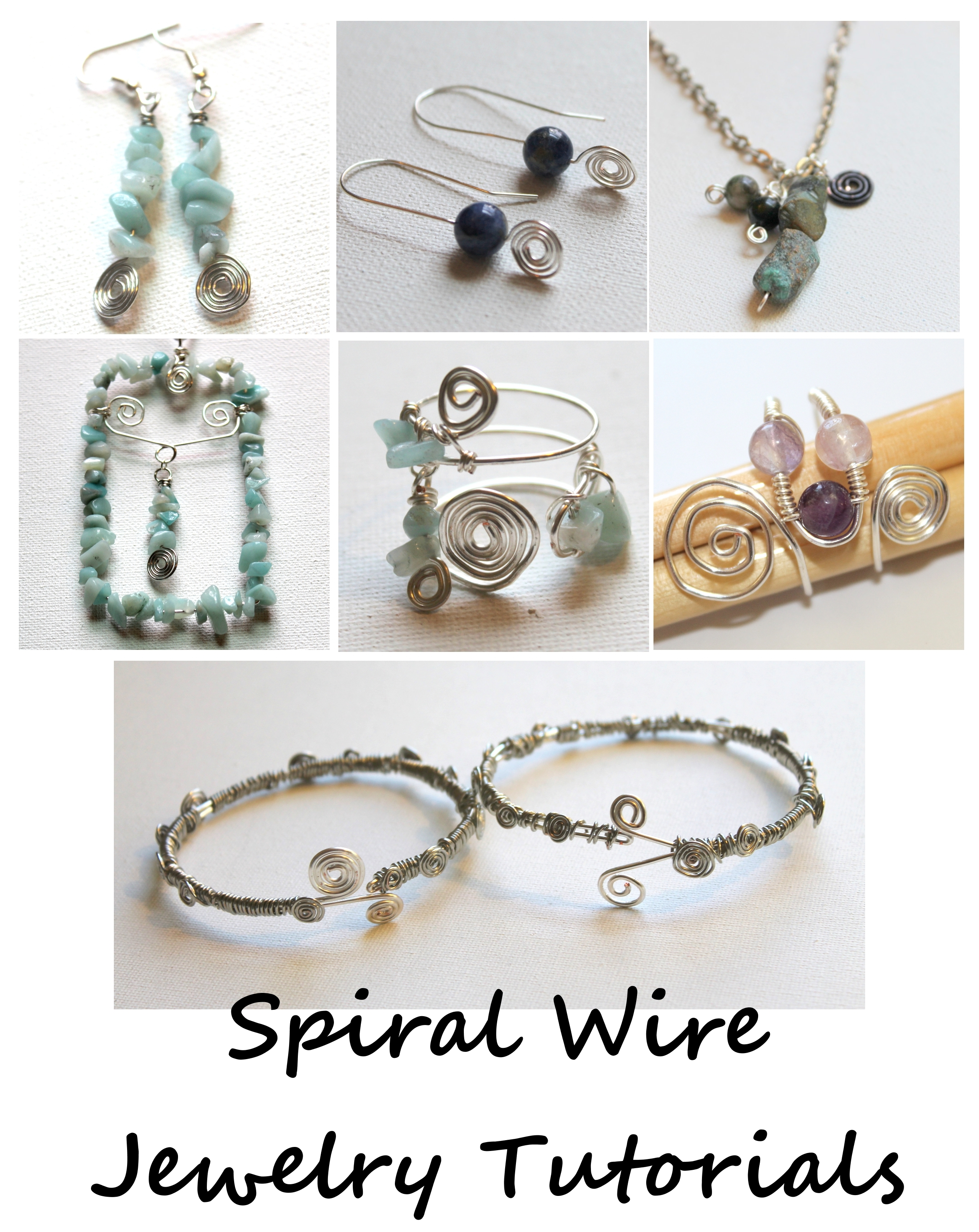 Spiral Wire Jewelry Tutorials eBook