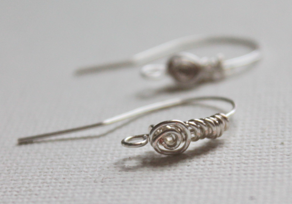 How to Make Spiral Earring Wires