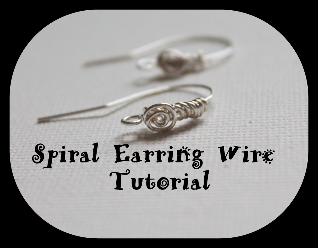 Spiral Earring Wire Tutorial