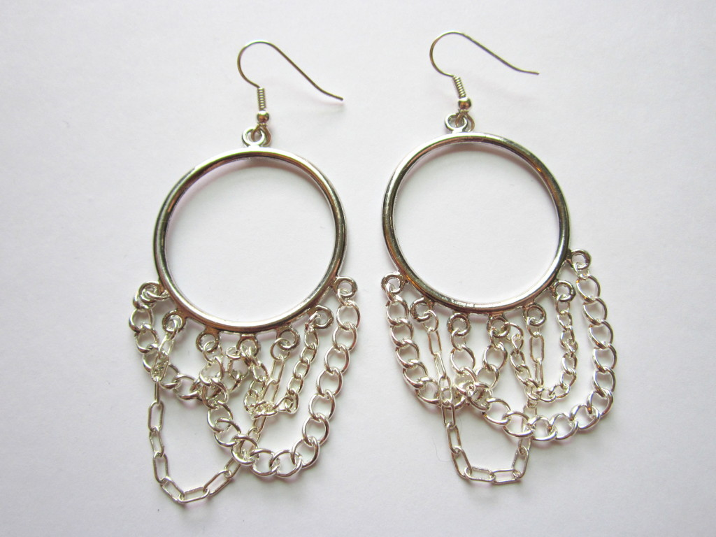 Chandelier Earrings with Chain