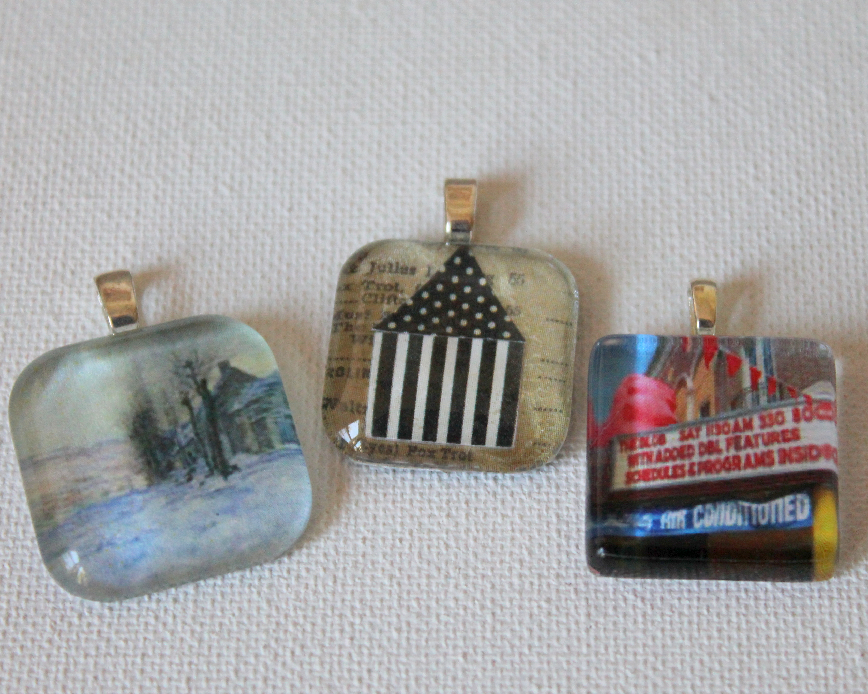 Glass tile pendant workshop emerging creatively jewelry tutorials glass tile pendant workshop aloadofball Image collections