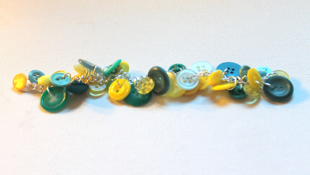 How to Make a Button Charm Bracelet