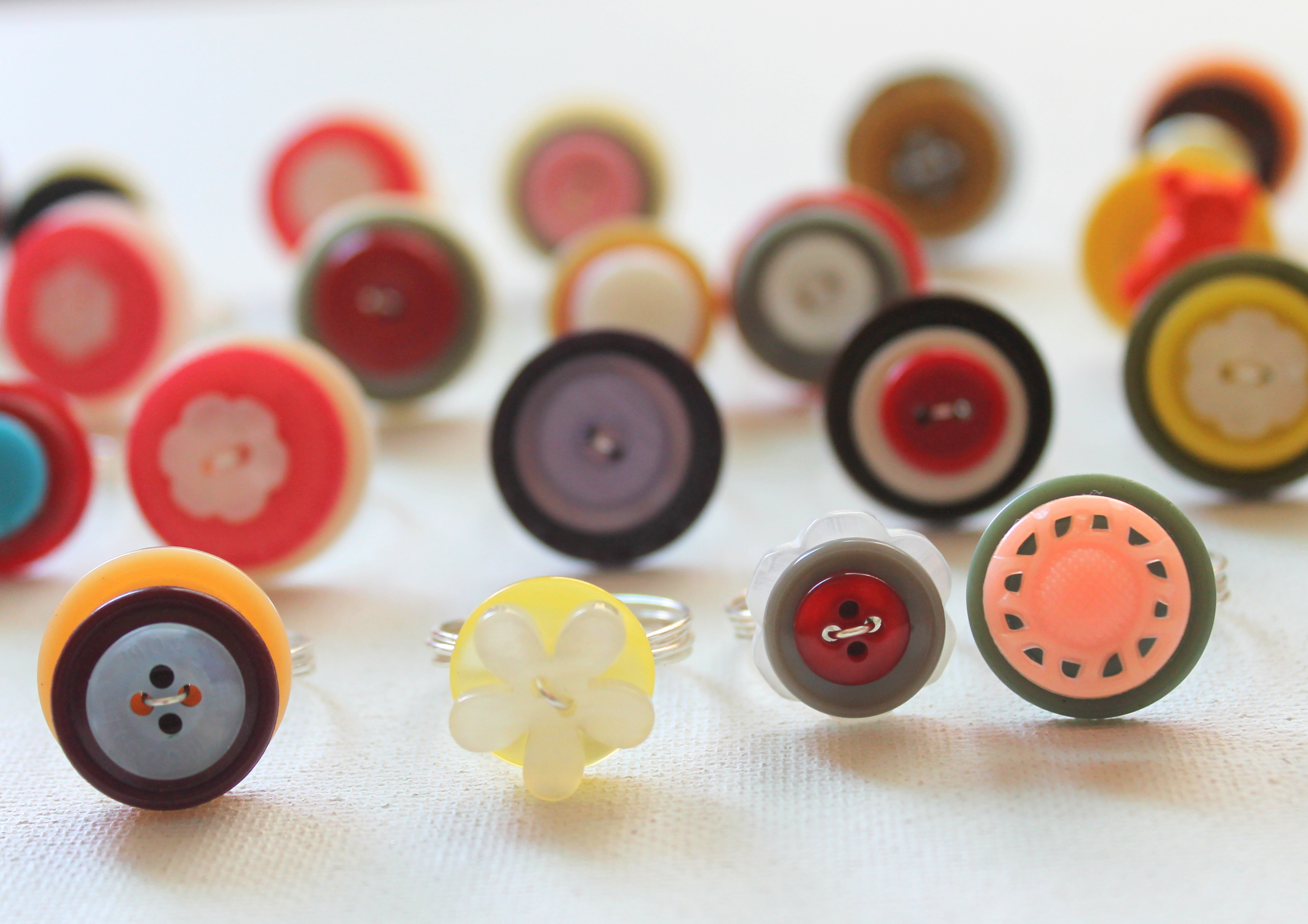 Wire Wrapped Button Ring Workshop