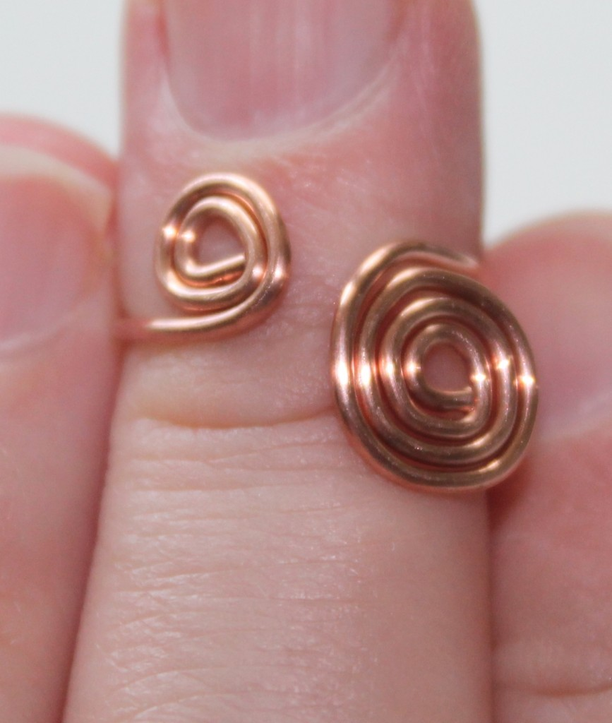 Adjustable Spiral Wire Ring Tutorial