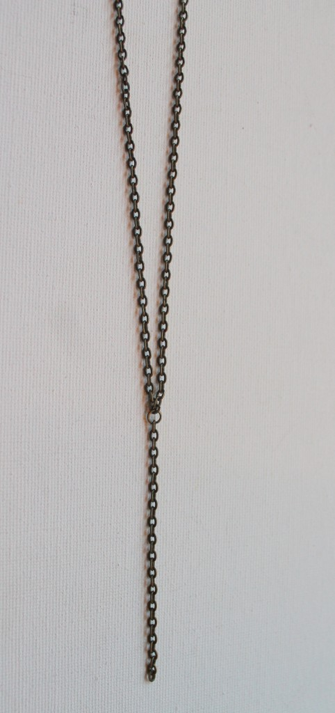 How to Make a Dangle Chain Necklace