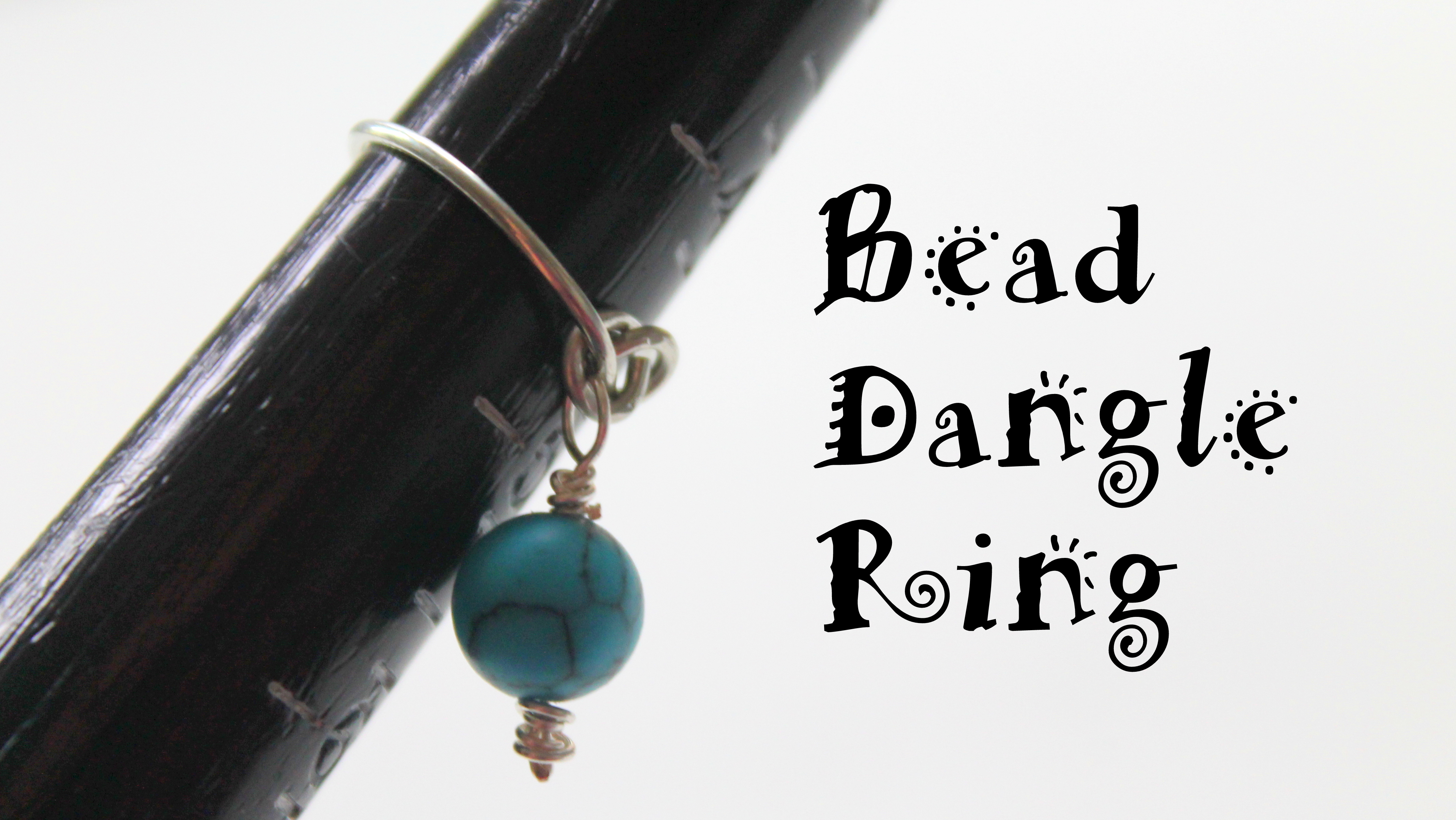 Bead Dangle Ring