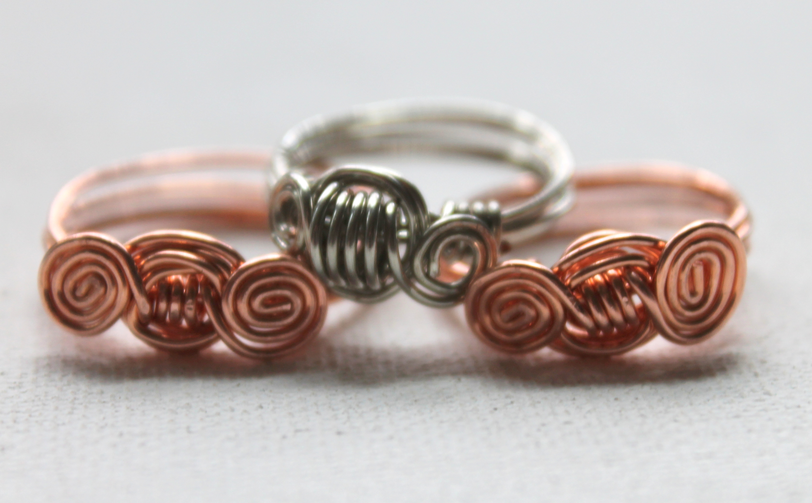 Spiral Wire Ring Tutorial