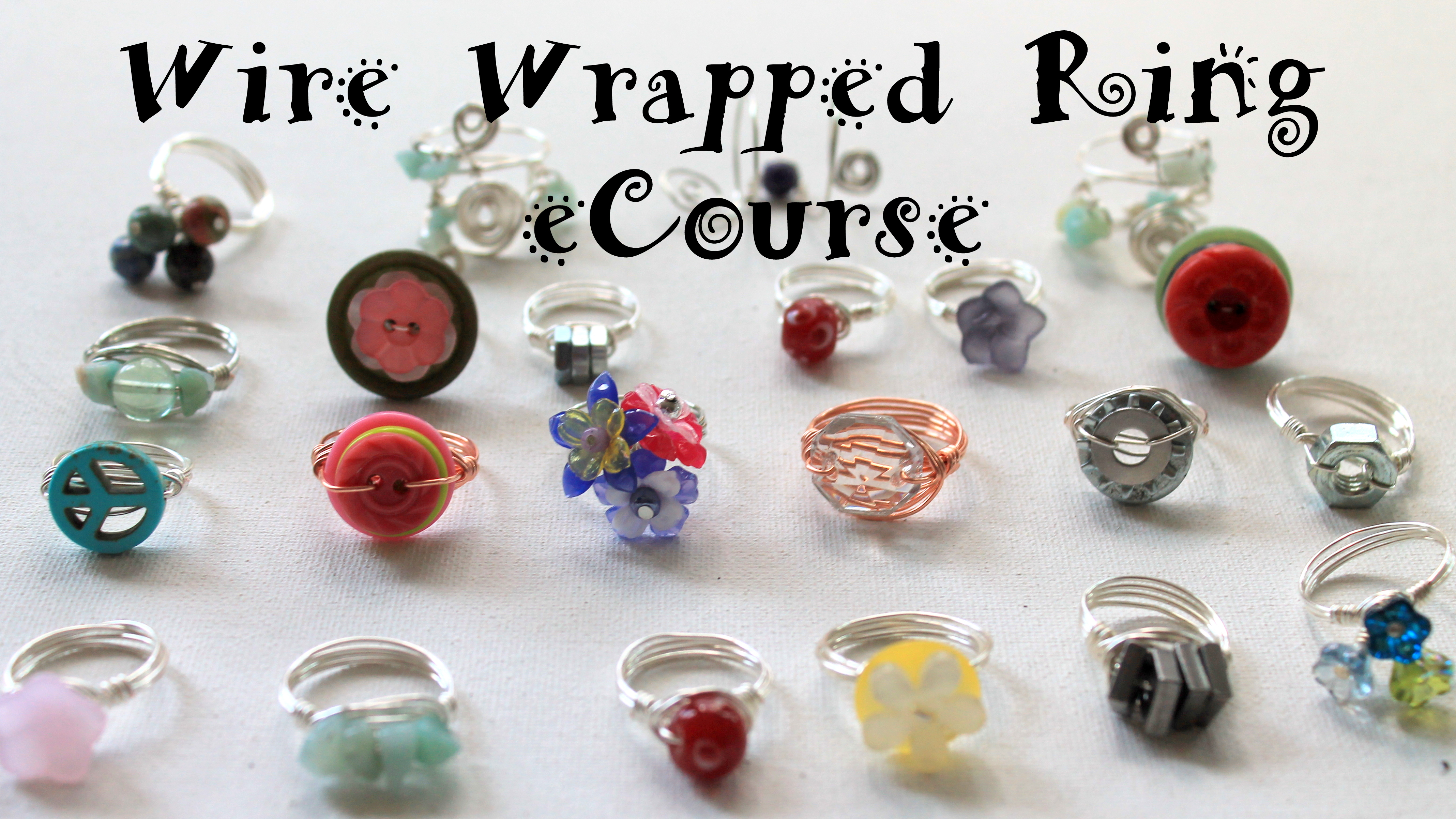 How to Make Wire Wrapped Rings