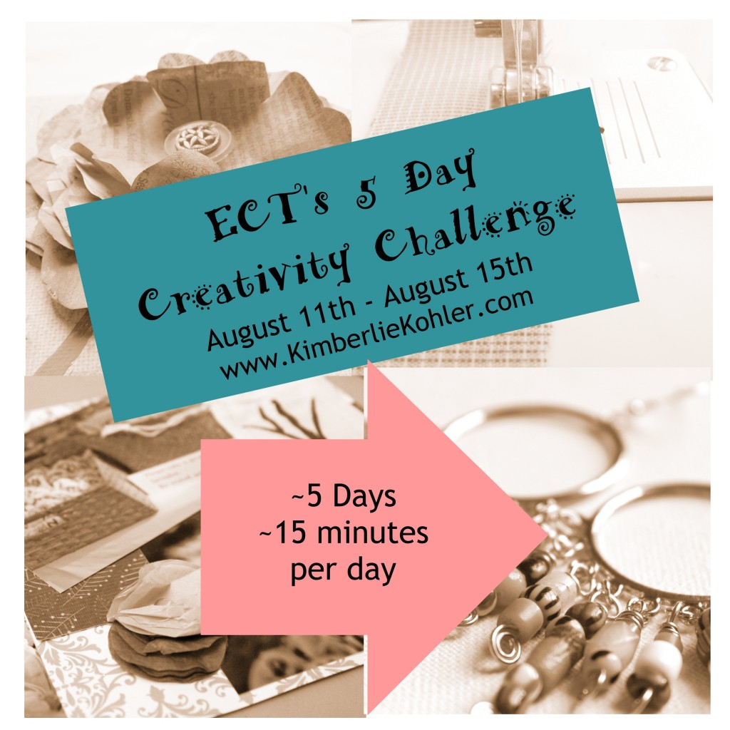 5 Day Creativity Challenge